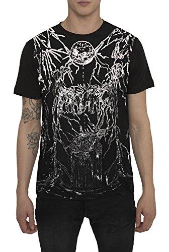 Camisetas-de-Moda-Designer-Vintage-Fashion-Rock-para-Hombre-Camiseta-Negra-Blanca-con-Estampada-UNIVERSE-Cuello-redondo-Manga-corta-Algodn-Alta-calidad-Ropa-Moderna-para-Hombres-S-M-L-XL-XXL