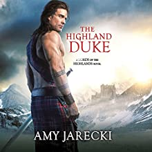 The Highland Duke Audiobook by Amy Jarecki Narrated by Penelope Hardy