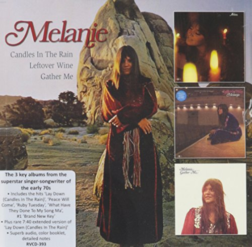 Melanie - Candles In The Rain / Leftover Wine / Gather Me - Zortam Music