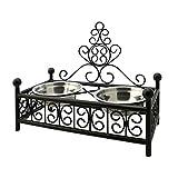 HLC ペット用食器 ユーロクラシックデザインの食器スタンド