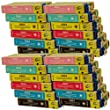 24 CiberDirect Compatible Ink Cartridges for use with Epson Stylus Photo PX730WD Printers.