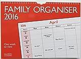 Calendrier 2016 organisateur familial - Une semaine par page...