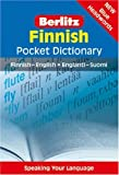 Berlitz Finnish Dictionary: Finnish- English / Englanti-suomi (Berlitz Pocket Dictionaries)