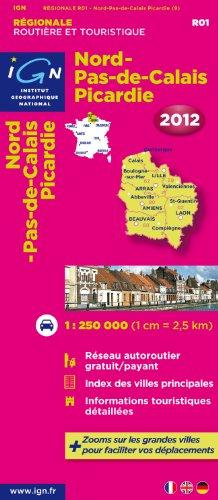 Nord Pas de Calais/Picardie Carte