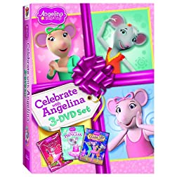 Celebrate With Angelina 3-DVD Set