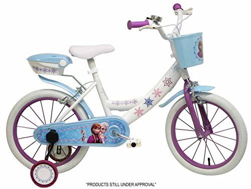 """Bicicletta ufficiale 16"""" Disney Frozen"""