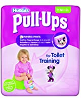 Huggies Pull-Ups 26 Couches Culottes d'apprentissage Filles taille 5/M - Lot de 2