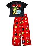 Angry Birds - Little Boys Short Sleeve Angry Birds Pajamas
