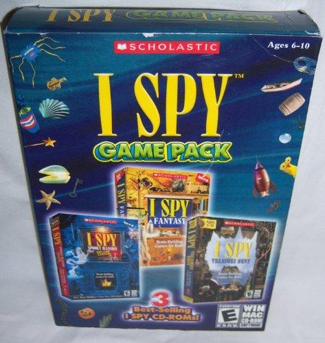 I Spy Game Pack (I Spy Spooky Mansion Deluxe / I Spy Fantasy / I Spy Treasure Hunt)