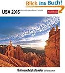 USA 2016: Sehnsuchtskalender, 53 Post...