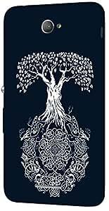 Timpax Hard Back Case Cover Printed Design : A mushroom tree.For Sony Xperia E-4