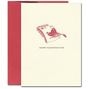 Valentine Cards: Note - box of 10 cards & envelopes