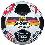 Speed Up Multi Flag Kick Off Leatherite Football Size 5