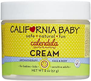 California Baby Calendula Cream, 2 oz