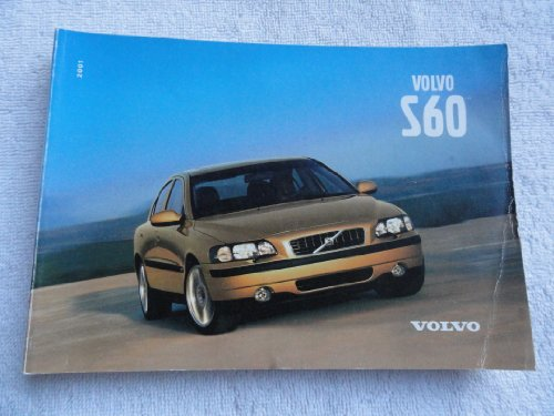 2001 Volvo S60 S 60 Owners Manual (Volvo S60 Owners Manual compare prices)