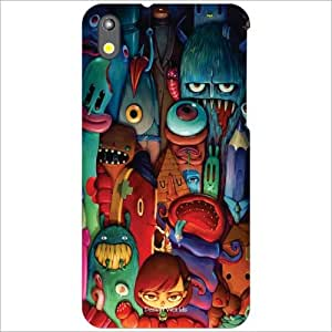 Design Worlds - HTC Desire 816 Designer Back Cover Case - Multicolor Phone ...