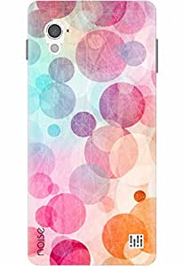Noise Designer Printed Case / Cover for InFocus M370i / Bling / Pink Polkas Design