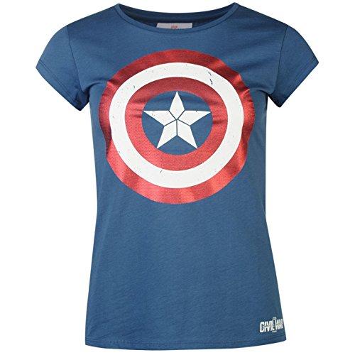 Marvel -  T-shirt - Donna multicolore Large