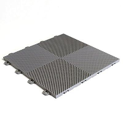 BlockTile Flooring Perforated Interlocking Tiles - 30 Pack