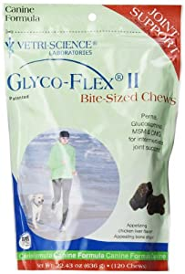 Glyco-Flex II Soft-Chews for Dogs, 120-Count