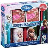 Disney Frozen Hot Cocoa Bundle: Disney Frozen Anna & Elsa 4 PC Hot Cocoa & Mu...