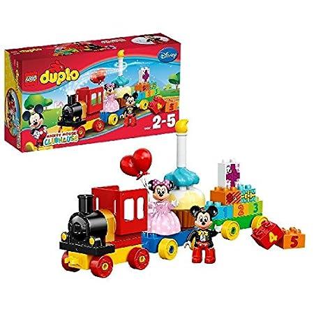 LEGO - 10597 - DUPLO - Jeu de Construction - La Parade d'anniversaire de Mickey et Minnie