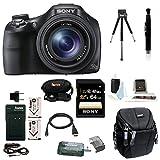 Sony Cyber-shot DSC-HX400 Digital Camera (Black) with 64GB Deluxe Accessory Bundle