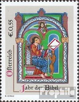 Österreich 2434 (kompl.Ausg.) postfrisch 2003 Bibel (Briefmarken für Sammler)