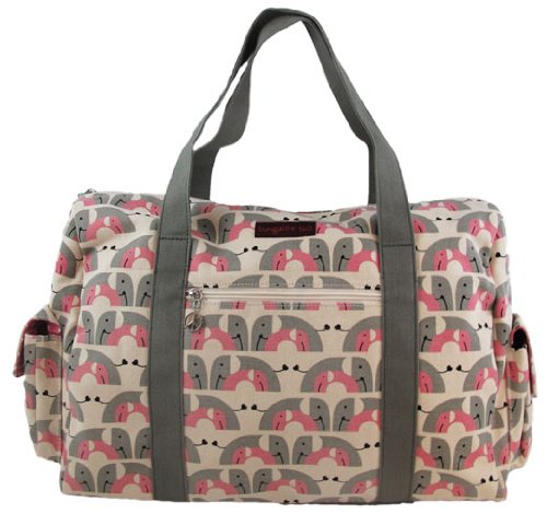 Bungalow360 Elephant Gym Duffle Bag