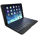 ZAGG Cover for iPad Mini & iPad Mini Retina , Hinged with Blacklit Keyboard - Black