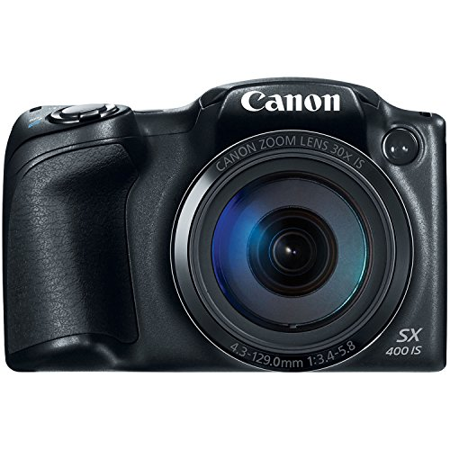 Buy Canon PowerShot SX400 Digital Camera with 30x Optical Zoom (Black)