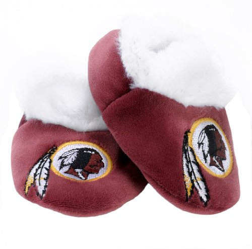 NFL Washington Redskins Baby Bootie Slippers at Amazon.com
