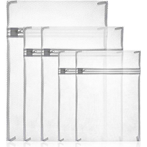 zacro filet linge blanc sac de lavage avec fermeture. Black Bedroom Furniture Sets. Home Design Ideas