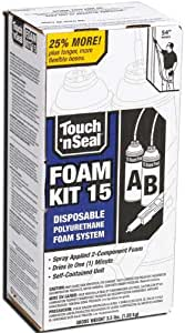 Touch N Seal 4004520015 U2-15 Spray Closed Cell DIY Foam Insulation Kit 15 BF