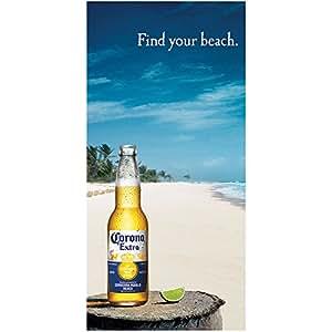Amazon.com - Corona Extra Cerveza Beer Find Your Beach Pool Towel