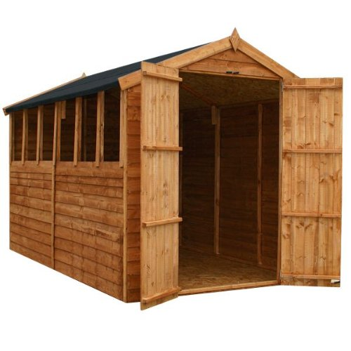 10' x 6' Walton's Value Overlap Apex Shed