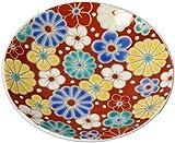 青郊 九谷焼 豆皿 縁起豆皿コレクション 梅菊模様