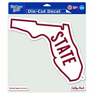Buy NCAA College Vault Florida State Seminoles 8-by-8 Inch Die Cut Colored Decal by WinCraft