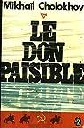 Le don paisible (complet en 4 tomes poche) par Cholokhov