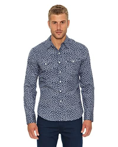 Levi´s Camicia Uomo  Blu Navy size is not in selection IT