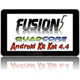 "FUSION5® 9"" QUAD-CORE TABLET PC - ANDROID 4.4.2 KITKAT - 1024*600 - DUAL CAMERAS - UK BRANDED TABLET PC"