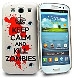 Accessory Master- Rose 'KEEP CALM AND KILL ZOMBIES ' la conception hard Housse pour samsung galaxy S3 I9300