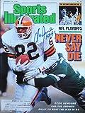 Newsome, Ozzie 1/12/87 autographed magazine