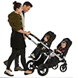 2016-Baby-Jogger-City-Select-Twin-Tandem-Double-Stroller-Red-w-Second-Seat
