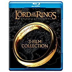 Lord of the Rings: Original Theatrical Trilogy [Blu-ray]