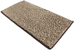 "12'x20' Chocolate Chip Area Rug Carpet. MULTIPLE SIZES, SHAPES and COLORS TO CHOOSE FROM. Home area rugs, runner, rectangle, square, oval and round. Hem-stitching on all four sides. 22 oz. Face Weight. 1/2"" Thick. Polyester. Loose and Soft Frieze."