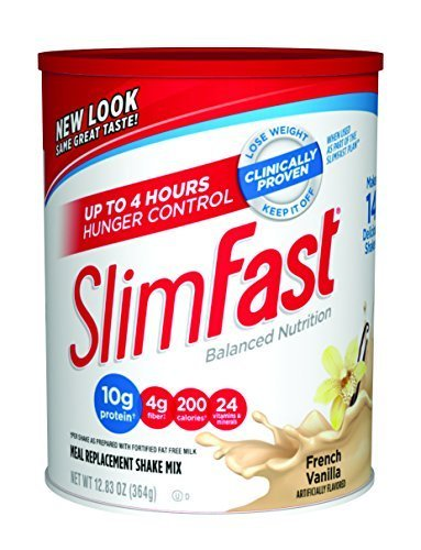 SlimFast Powder Shake Mix, French Vanilla, 12.83 oz by Slim-Fast (Slim Fast Powder Mix compare prices)