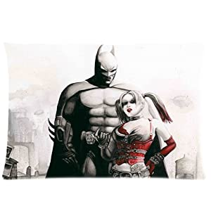 Bedroom decor custom harley quinn pillowcase for Harley quinn bedroom designs
