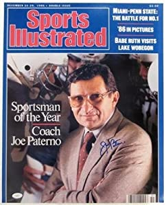 Signed Joe Paterno Photograph - 16x20 SI + JSA Holo F35119 - Autographed College... by Sports+Memorabilia