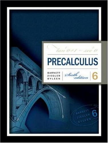 precalculus with trigonometry concepts and applications pdf